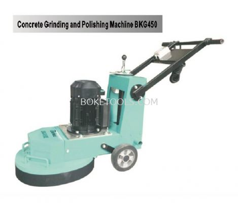 CONCRETE GRINDING & POLISHING MACHING BKG450E