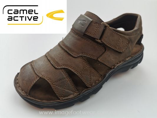CAMEL ACTIVE Full Leather Men Shoes-CA-891955-04-33 COFFEE Colour
