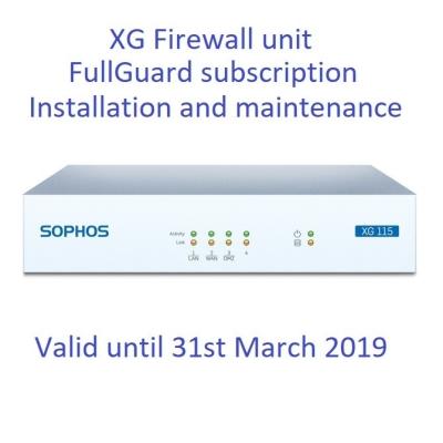 Sophos XG Next-Gen Firewall Subscription Service