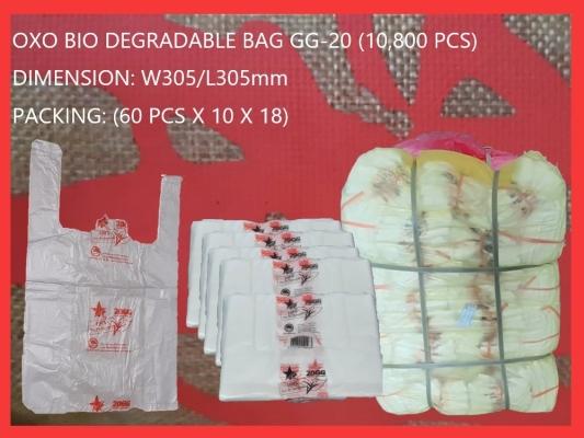 OXO BIO DEGRADABLE BAG GG-20 (10,800 PCS)