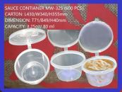 SAUCE CONTIANER WITH LID MW-325 (600 PCS)