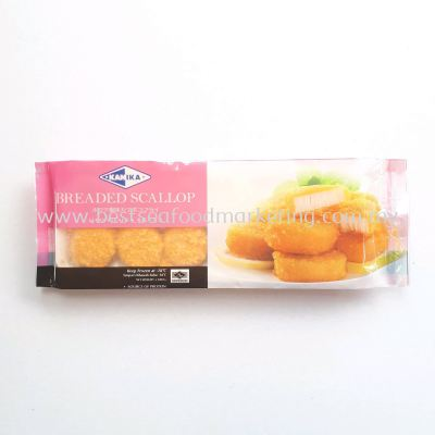 Imitation Breaded Scallop (Kanika) / 香脆干贝丸 / Kebab Kekapis (sold per pack)