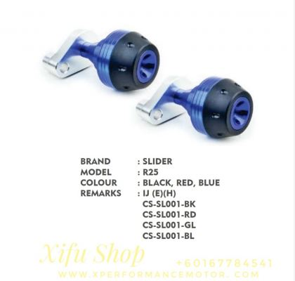 FLAME SLIDER ACCESSORIES CNC YAMAHA R25/R3