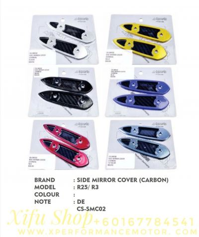 SIDE MIRROR COVER ACCESSORIES R25/R3 CS-SMC02