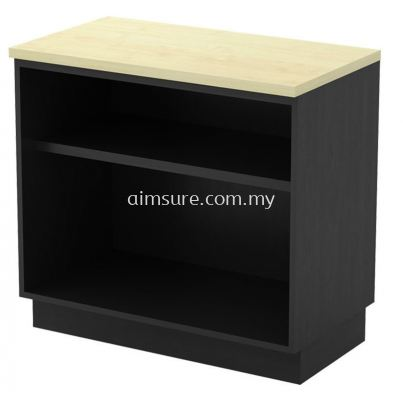 Side open shelf low cabinet 750H