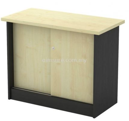 Side cabinet with sliding door T2
