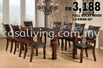 DINING SET 1+8 MARBLE TOP DINING SET DINING SET