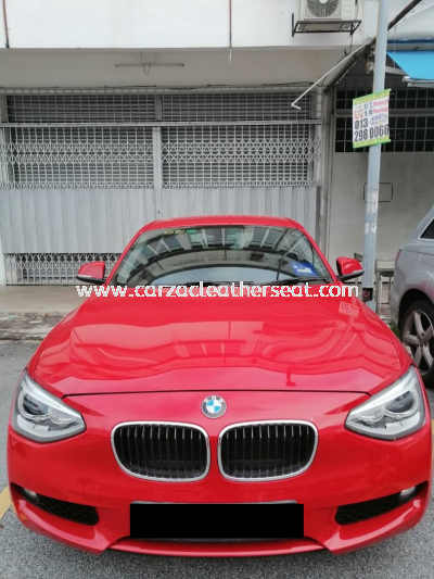 BMW 116i FULL SEAT REPLACE LEATHER