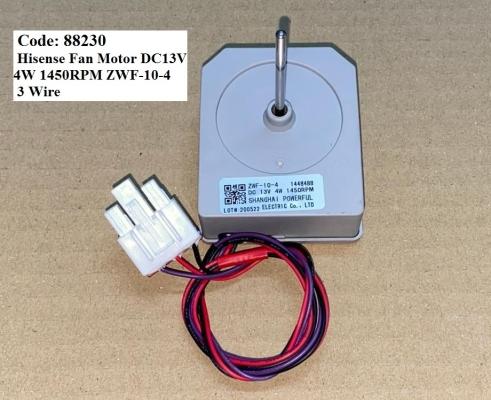 Code: 88230 Hisense Fan Motor DC13V