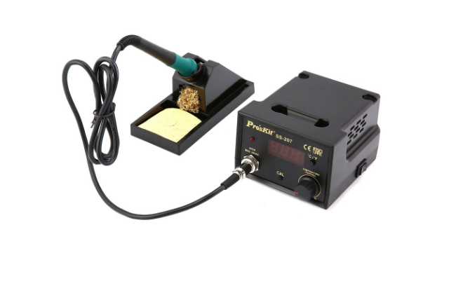 PROSKIT - SS-207 TEMPERATURE CONTROLLED DIGITAL SOLDERING STATION