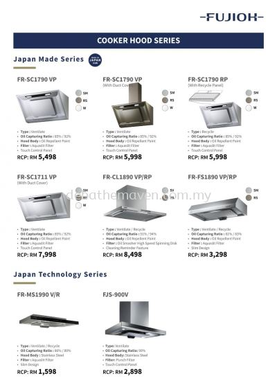 FUJIOH - PACKAGE PRICE LIST