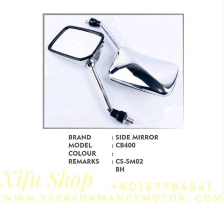 SIDE MIRROR SET HONDA CB400 CS-SM02