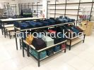 Fountain Table & Wooden Box Display Part 2 Fountain Table & Multi Wooden Box Display Wood Selfving System