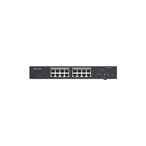 RG-ES218GC-P. Ruijie 18-Port Gigabit Cloud Managed POE+ Switch. #AIASIA Connect