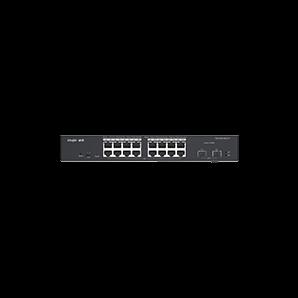 RG-ES218GC-P. Ruijie 18-Port Gigabit Cloud Managed POE+ Switch. #AIASIA Connect