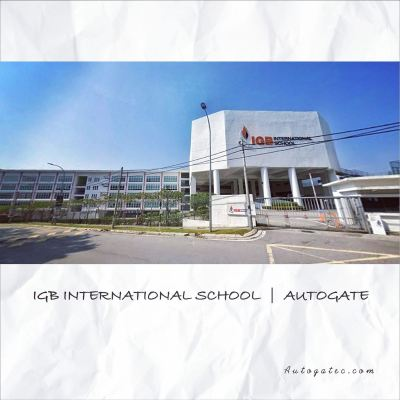 Autogate in IBG International School