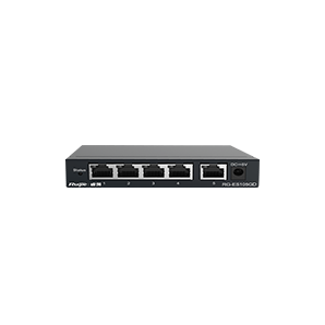 RG-ES105GD. Ruijie 5-Port Gigabit Unmanaged Metal Switch. #AIASIA Connect