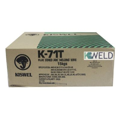 KISWEL K71T FLUX CORED