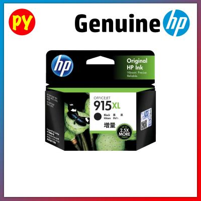 HP 915 XL Black Original Ink Cartridge - 3YM22AA