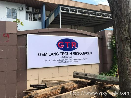 GEMILANG TEGUH RESOURCES Polycarbonate Signage