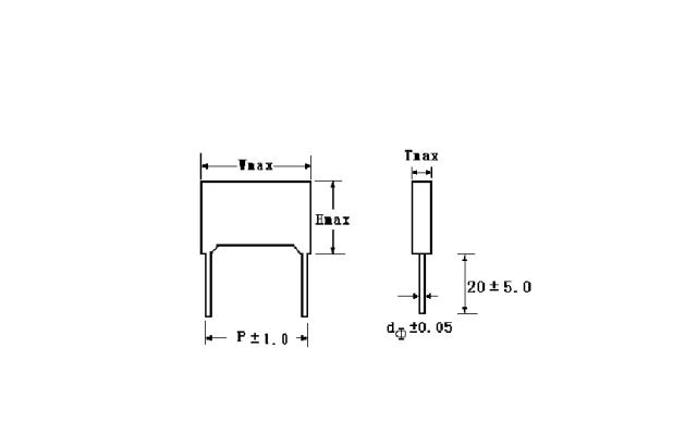 Jimson MEB(CL23X) Metallized Polyester Film Capacitor (Mini-BOX)