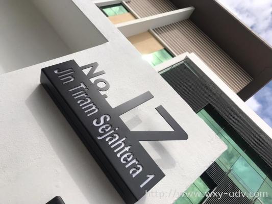 Aluminium Number Plate