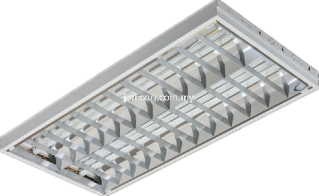 Goodlite GMF Series Top Mirror Louvre Fitting (Plaster Recessed))