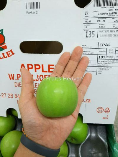 South Africa Granny Smith Green Apples 135's
