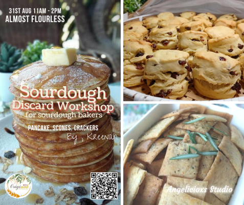 Sourdough Discard Snacks Workshop