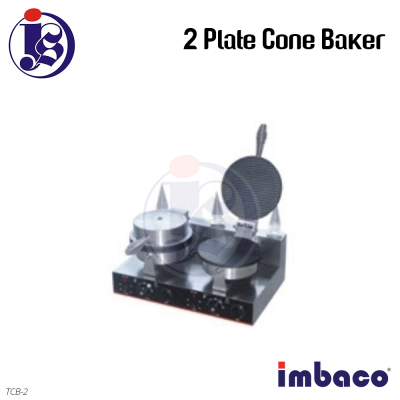 Imbaco 2 Plate Cone Baker TCB-2