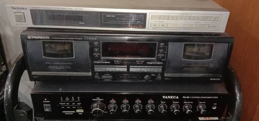 Pioneer CT-W204 Stereo Double Cassette Deck
