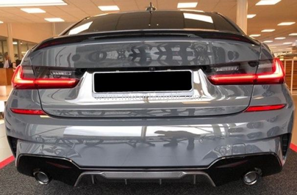 BMW 3 SERIES G20 2019 M-TEK PERFORMANCE REAR DIFFUSER