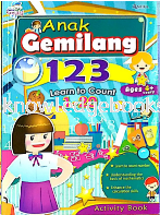 LEARNT TO COUNT 1-20 (SIRI ANAK GEMILANG)