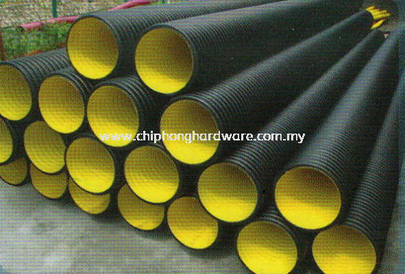 HDPE Double Wall Corrugated Sewer & Drainage Pipe (BBB)
