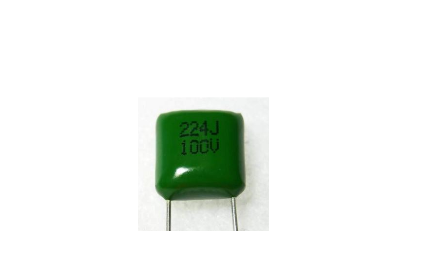 PEI. Polyester Film Capacitor - Inductive, Radial Dipped
