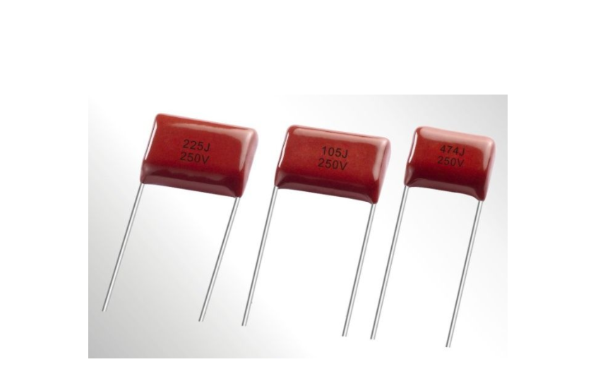 PES. Polyester Film Capacitor - Non-Inductive Construction, Radial, Miniature Size