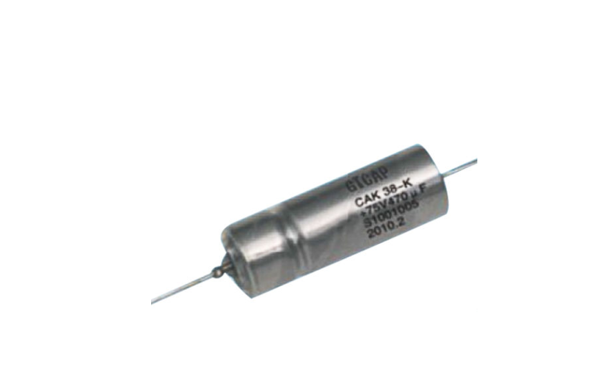 Camel TCA. Metal Case Tantalum Capacitors