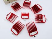 8-pcs Attachment Guides for Wahl Clipper (Red)