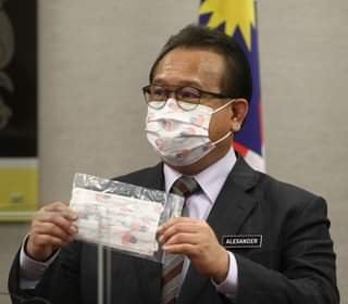 Datuk Alexander Nanta Linggi was seen wearing Durio 532A in press conference earlier today!