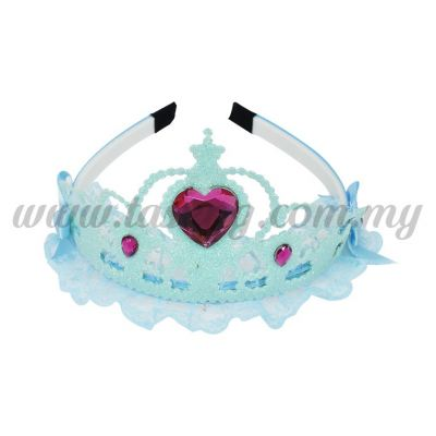 Hairband 3 LACE CROWN *BLUE (DU-HB3-B)