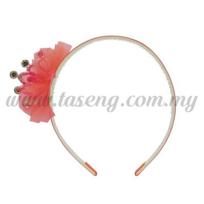 Hairband 2 LITTLE CROWN *ROSE (DU-HB2-RO)