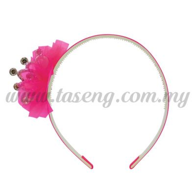 Hairband 2 LITTLE CROWN *MAGENTA (DU-HB2-M)
