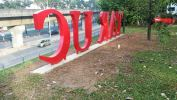 Tunku Abdul Rahman University College 3D Box Up Lettering 3D Box Up Signage