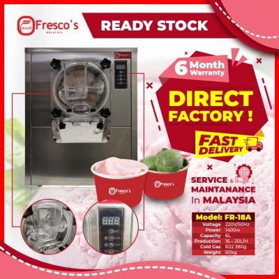 Fresco Hard Ice Cream Machine Frozen Fruit Ice
