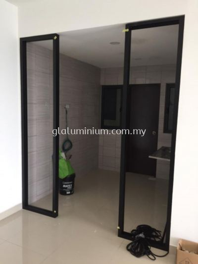 hanging sliding doors @sungai long.cheras