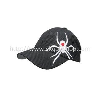 Black Widow SideWinder Hat Black
