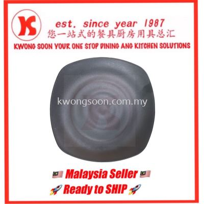 MELAMINE PLATE MATT COLLECTION BLACK SERIES