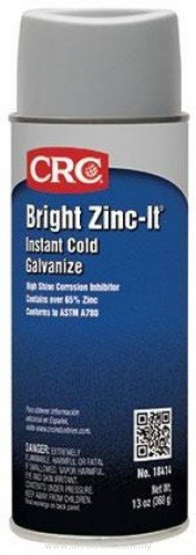 CRC BRIGHT ZINC-IT 18414