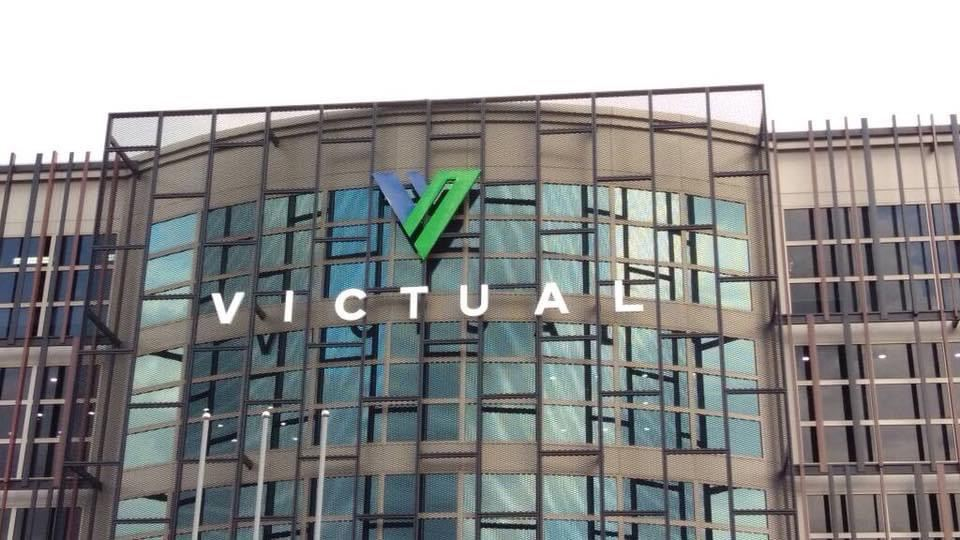 VICTUAL (Building 3d LED frontlit signboard)