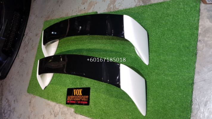 2006 2007 2008 2009 2010 2011 honda civic fd fd1 fd2 fd4 fd2r rear spoiler type r style for fd add on upgrade performance look frp material brand new set